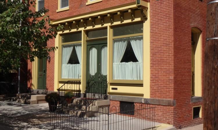Completed storefront restoration.
