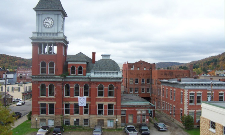 Old City Hall before any renovation work.