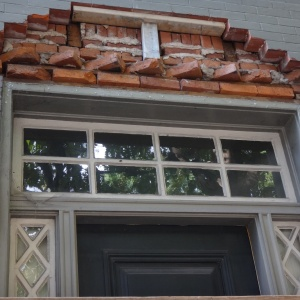 Selective brick removal