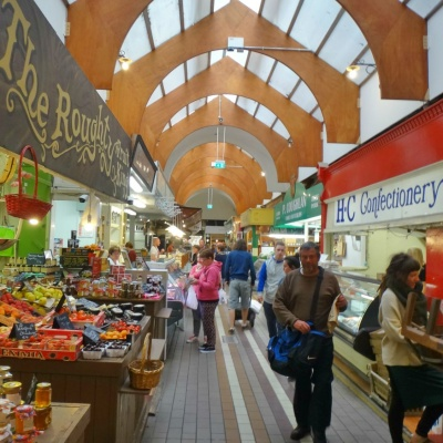 The English Market in Cork, Ireland's most famous covered food market