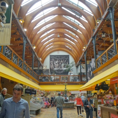 Inside the English Market in Cork