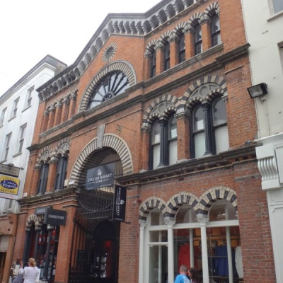 Cork's English Market building dates from the 19th century, with a market operating on this site since 1788