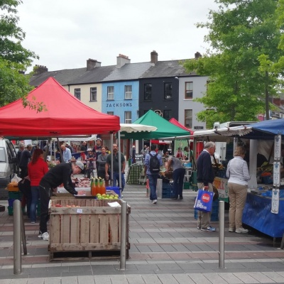 Street market on Cornmarket Street in Cork