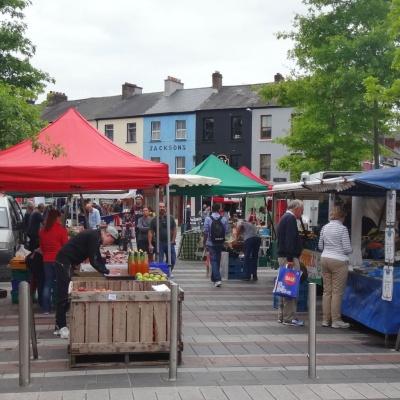 Street market on Cornmarket Street in Cork