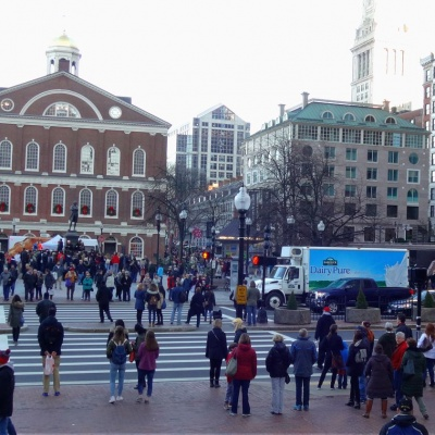 Haymarket Square in Boston
